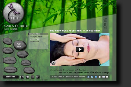 Tru-Life website design - web image 3 - by Sedona AZ Website Design Company IIIXIII