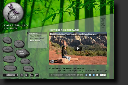 Tru-Life website design - web image 4 - by Sedona AZ Website Design Company IIIXIII