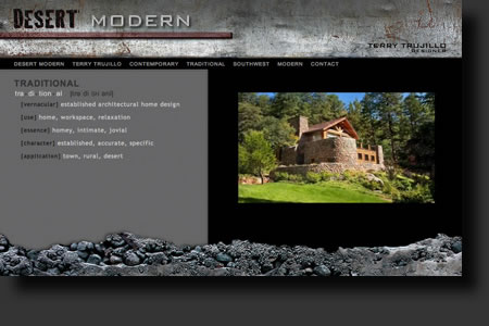 Desert Modern website design - web image 4 - by Sedona AZ Website Design Company IIIXIII